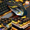 Metal Mamba Snake Gaming KB&M Combo